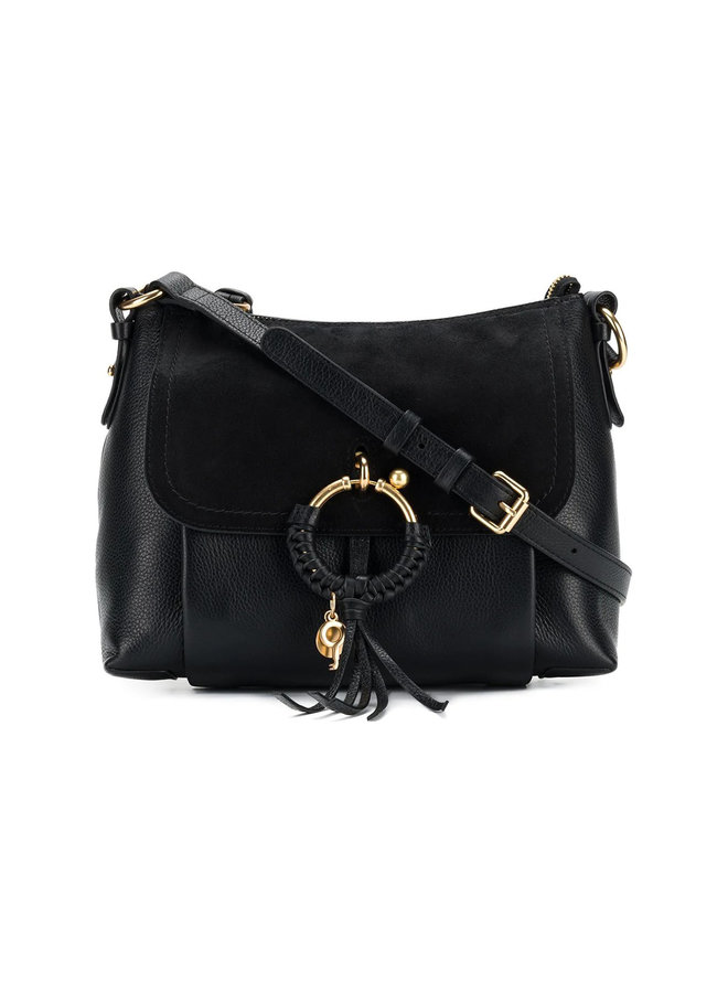 Joan Shoulder Bag in Black