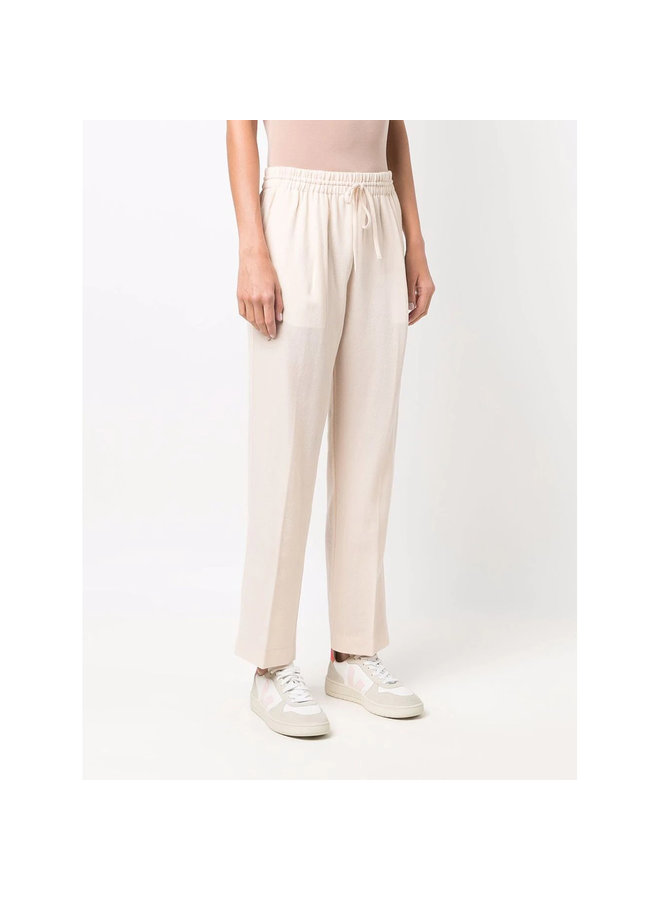 Drawstring Casual Pants in Beige
