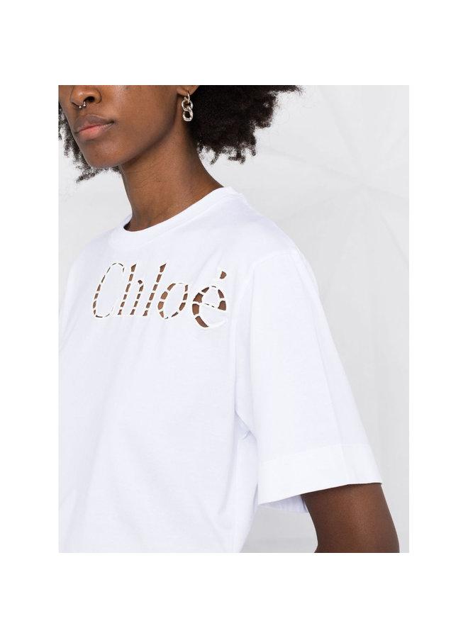 Logo T-shirt in White
