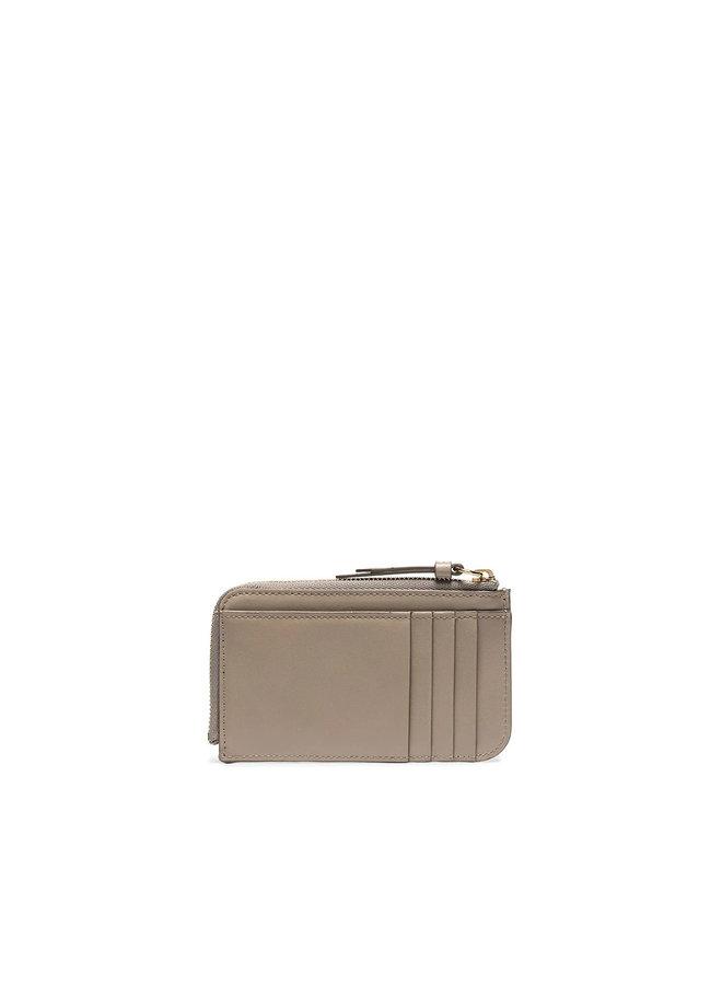C Zip Cardholder in Motty Grey