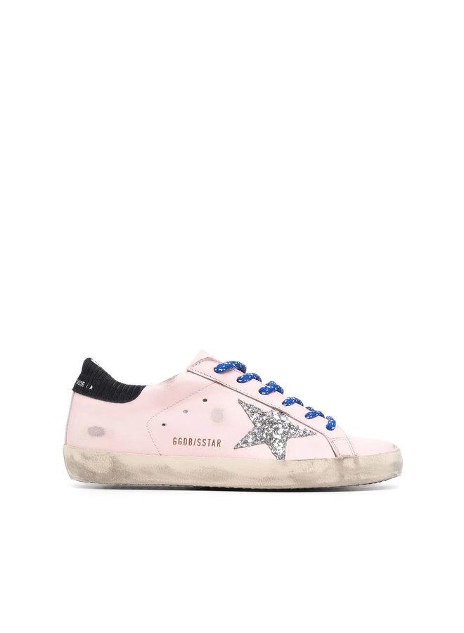 Superstar Low Top Sneakers in Pink