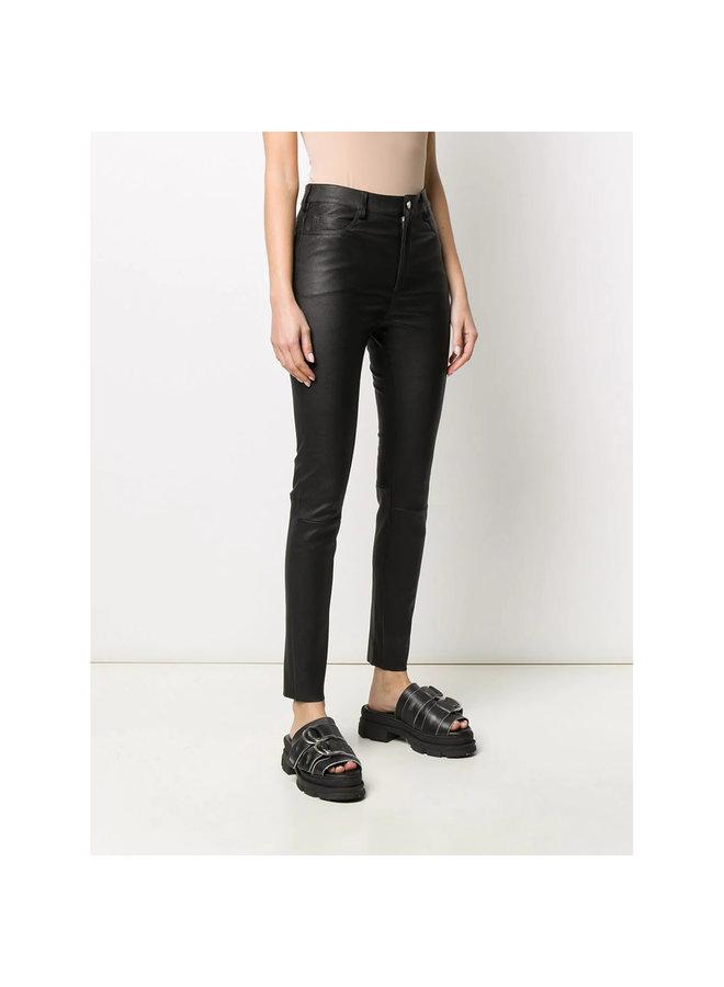 Five Pocket Skinny Pants in Black