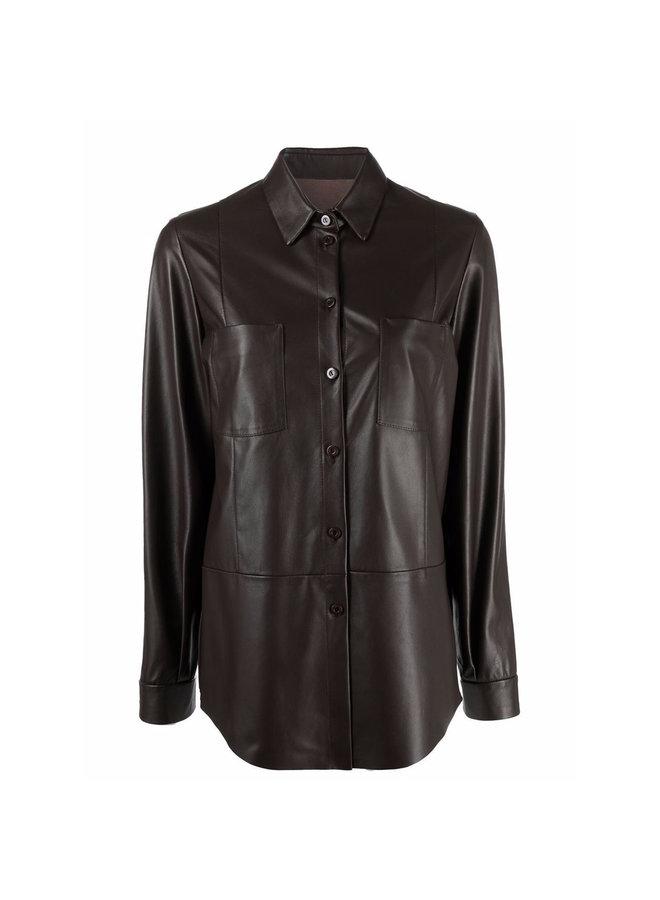 Long Sleeve Shirt in Choco