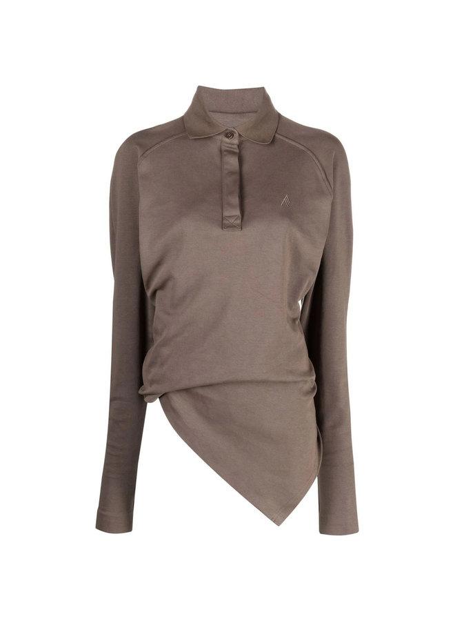 Asymmetric Polo T-Shirt