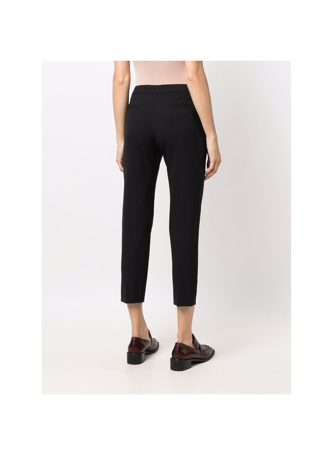Formal Cropped Pants in Black