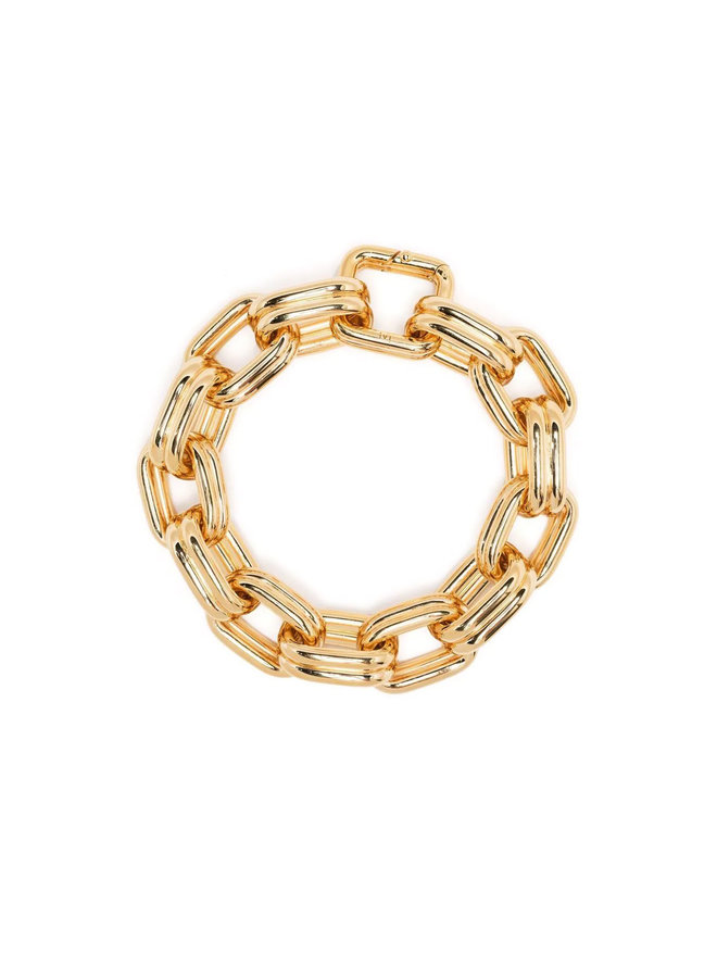 Chunky Toy Chain Bracelet in Gold
