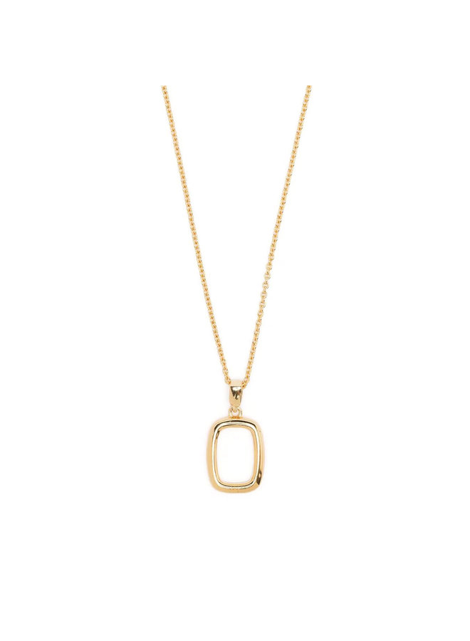 Thin Chain Necklace with Small Toy