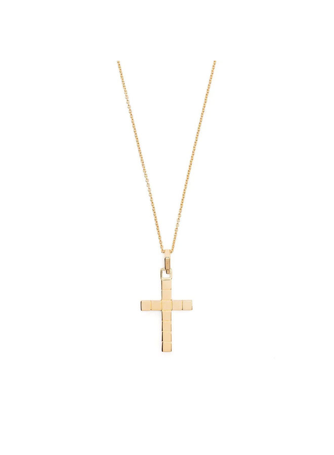 Signore Cross Necklace in Gold