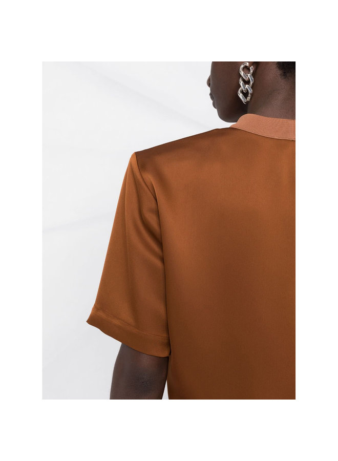 Short Sleeve T-Shirt in Caramel