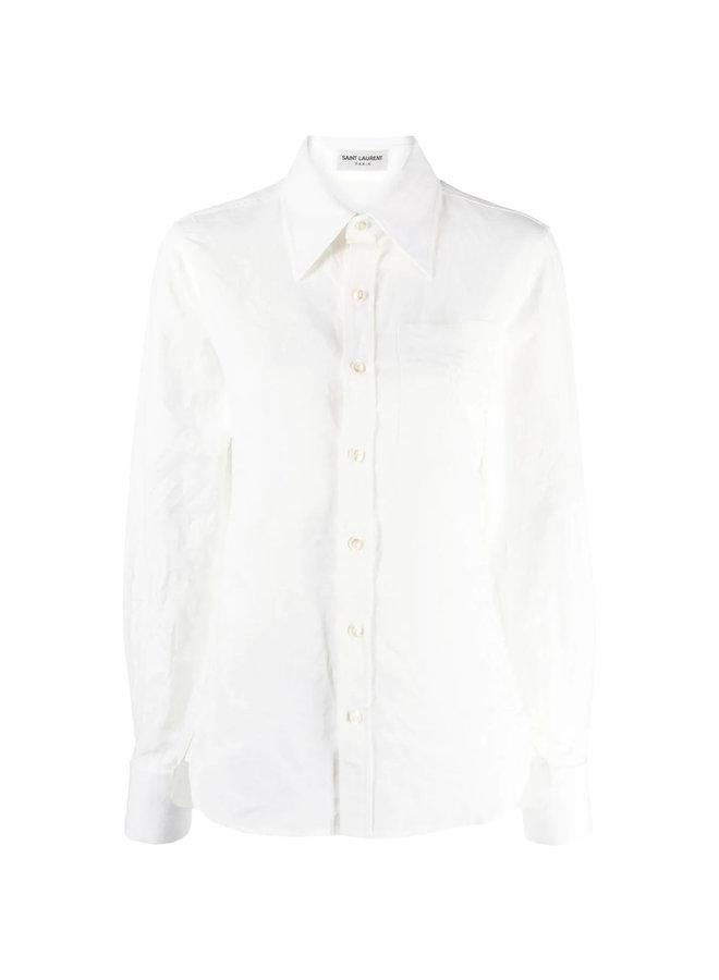 Long Sleeve Shirt in White