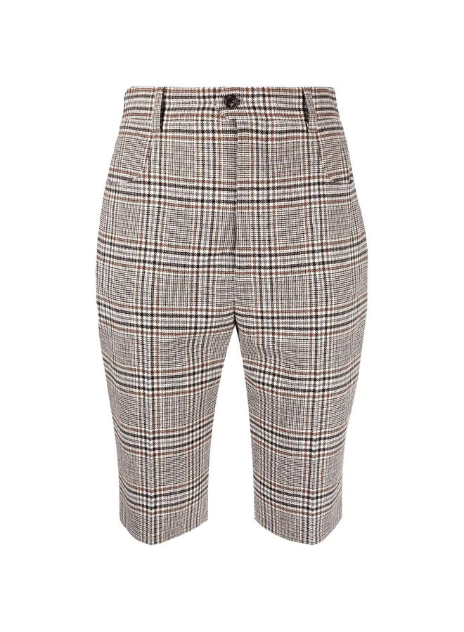 Checked Tailored Shorts