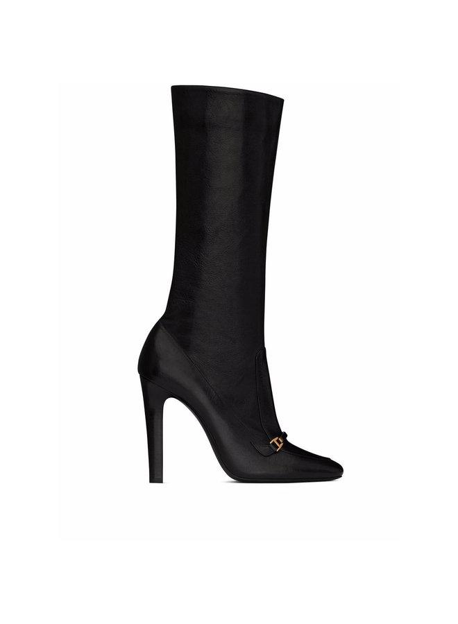 Knee High-Heel Boots