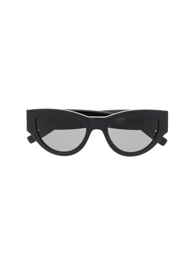 Logo Round Frame Sunglasses