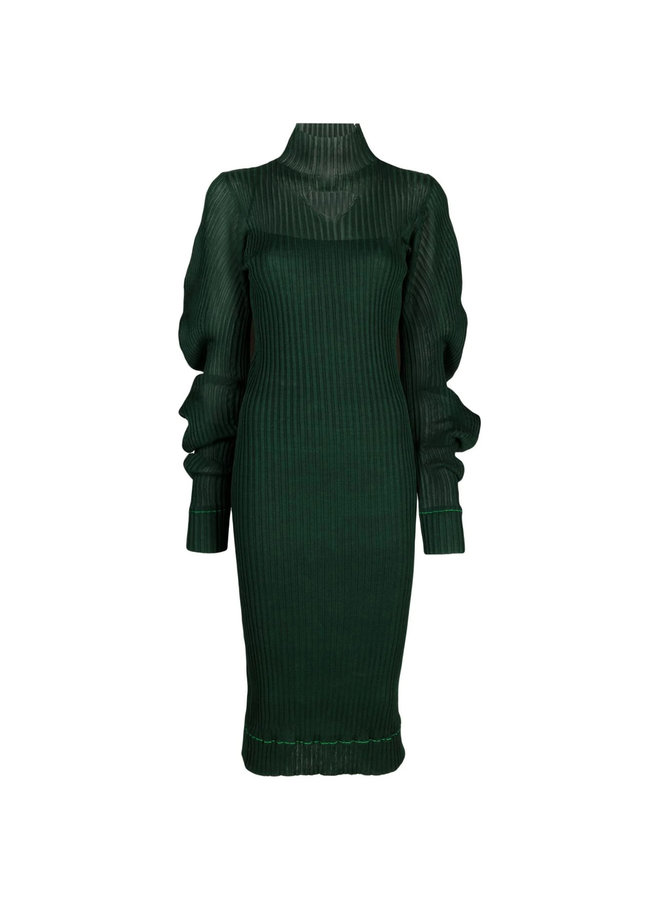 Midi Ribbed Dress