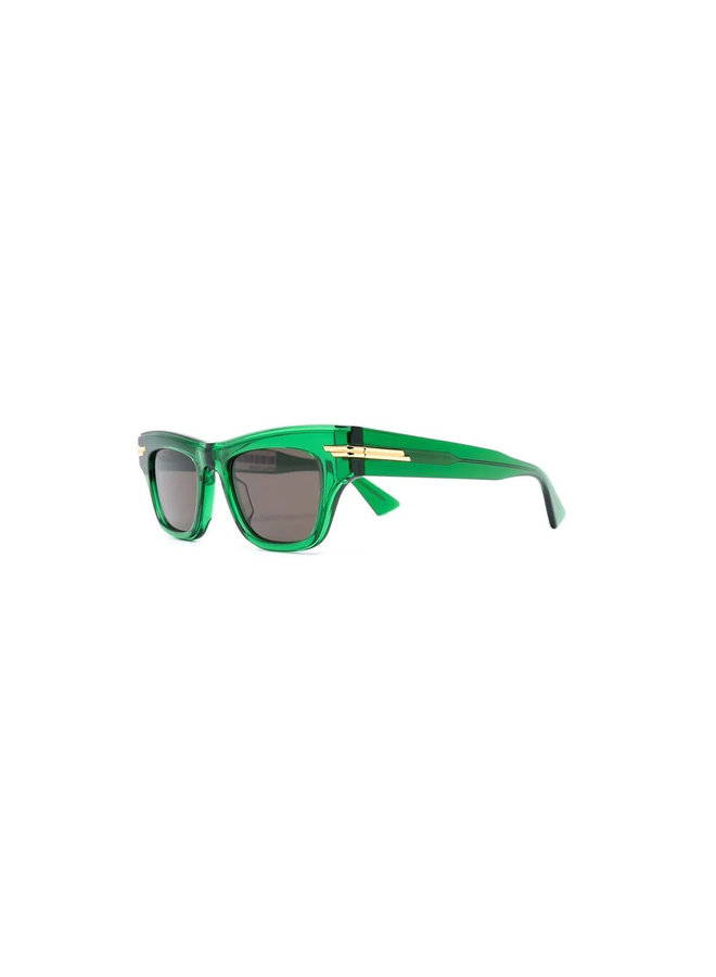 Square Frame Sunglasses in Green