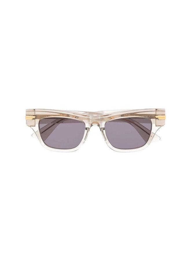 Square Frame Tinted Sunglasses