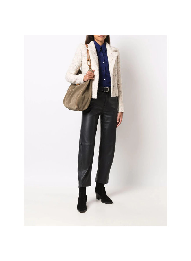 Garmia Short Jacket in Ecru