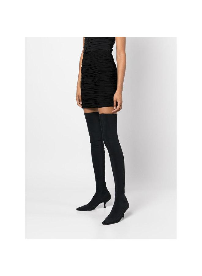Moira Mini Skirt in Black