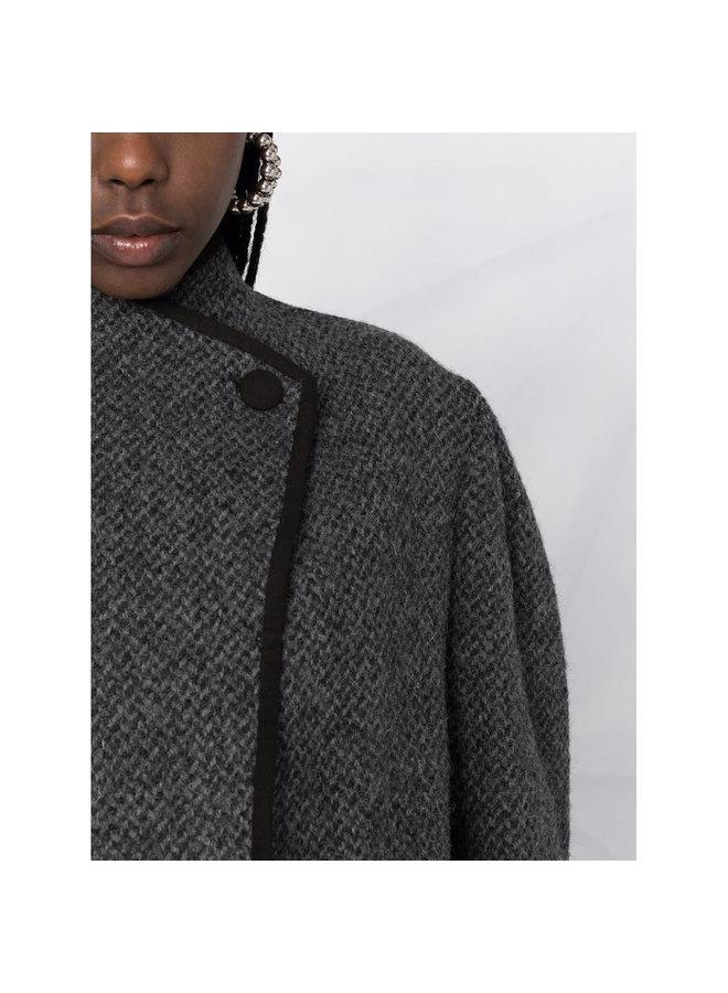 Jabadi Short Jacket in Grey