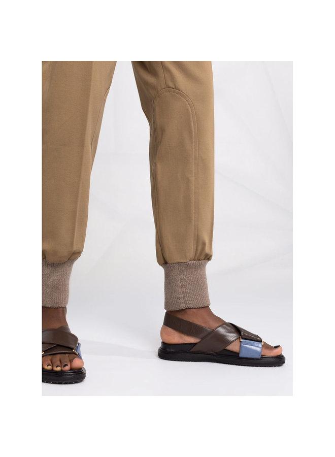 Casual Jogging Pants in Brown