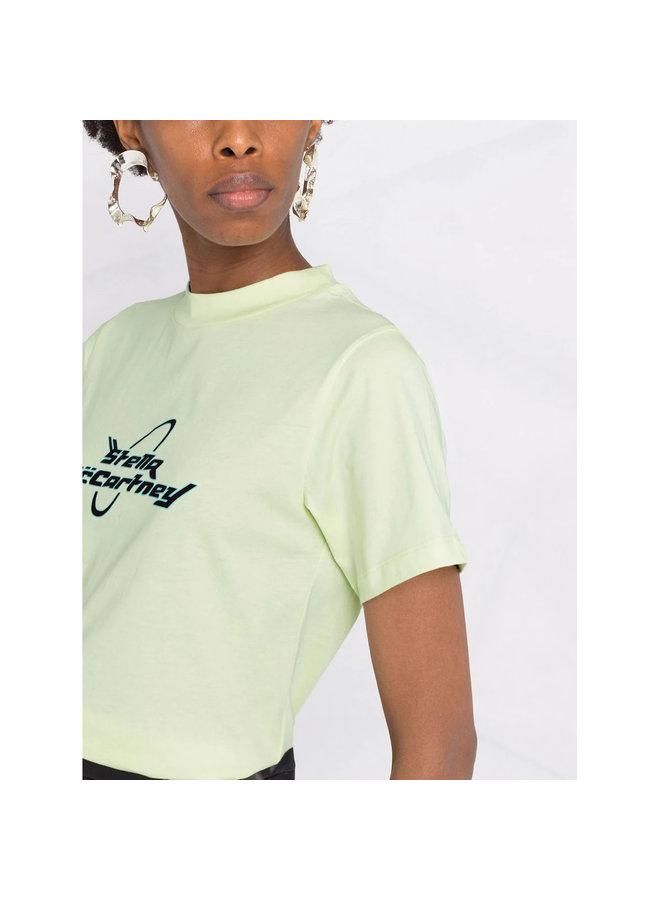 Logo Print T-shirt in Lemonade