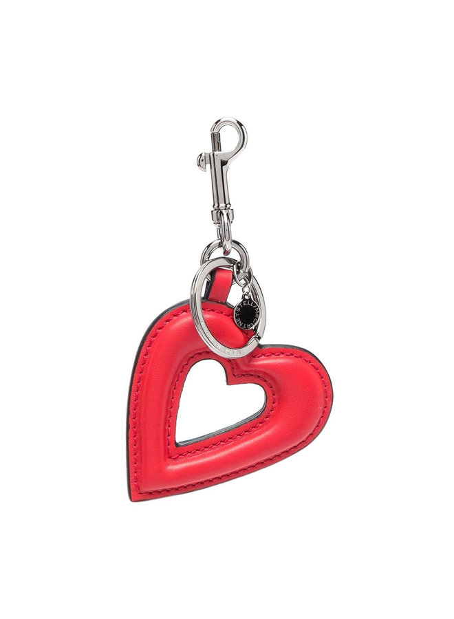 Heart Keyring in Red Amore