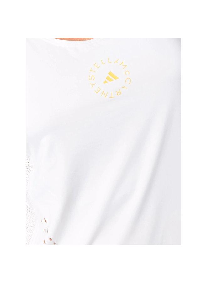 Logo Tank Top in White