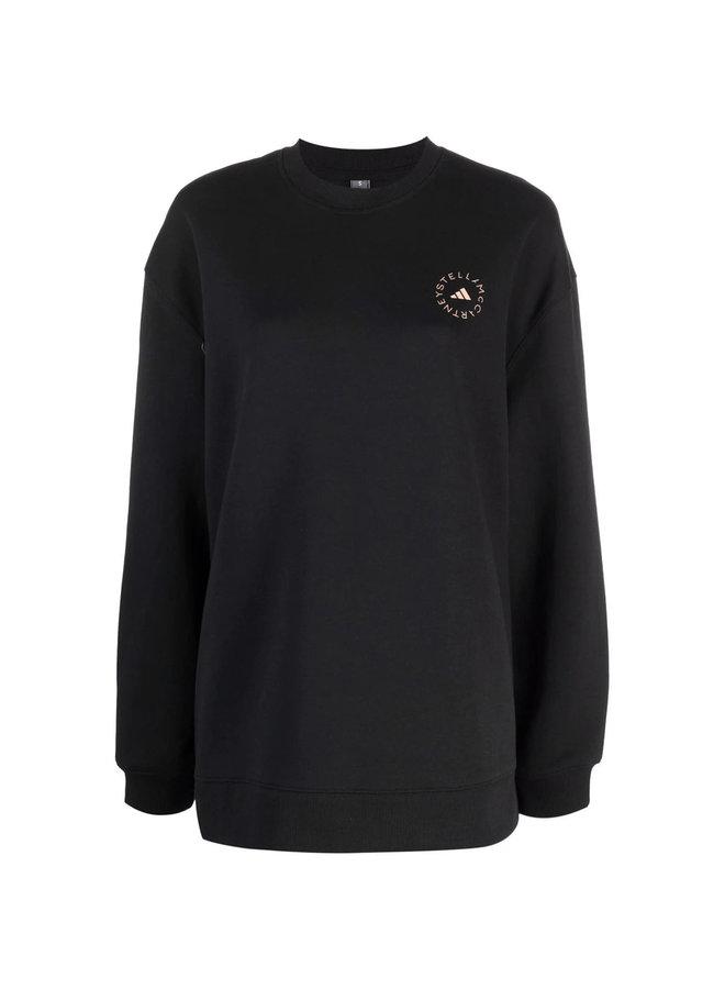 Logo Sweater in Black