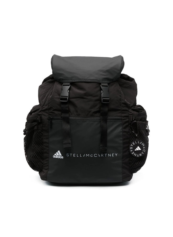 Logo Multi-pocket Backpack