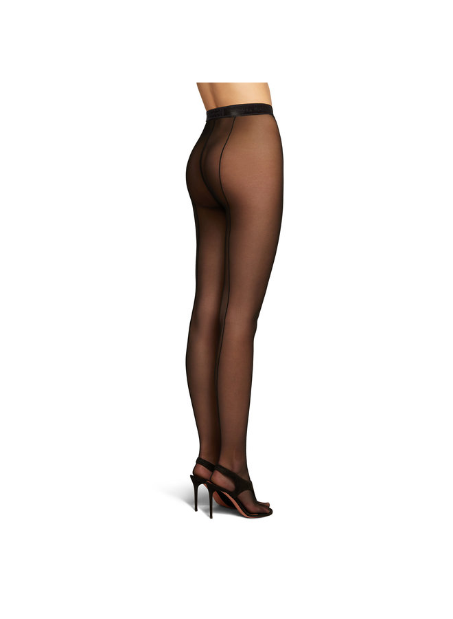 Thong Tights in Black
