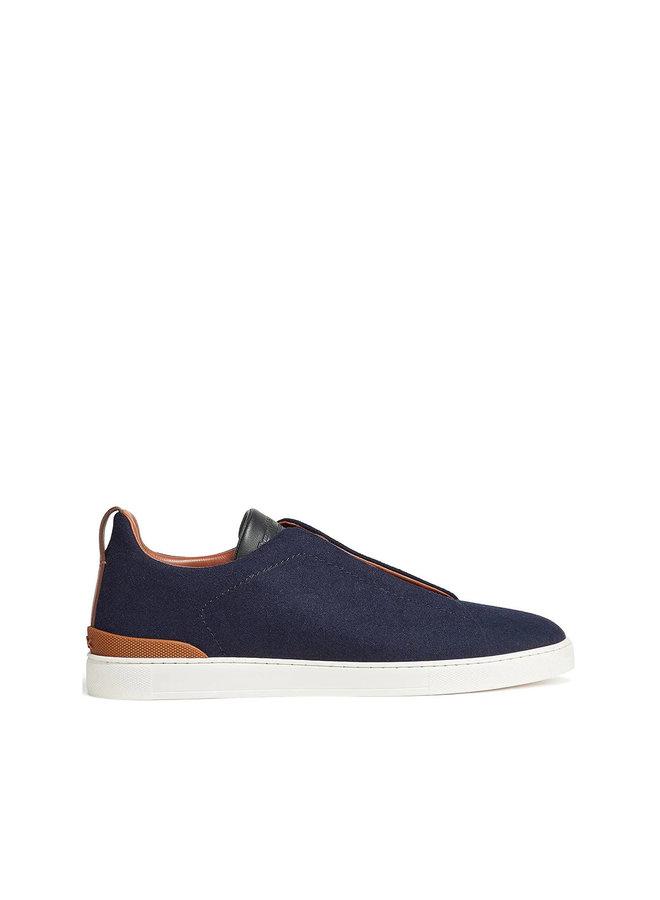 Triple Stitch Low Top Sneakers