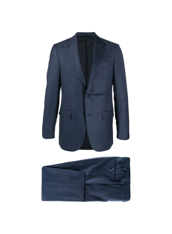 Single Breasted Two Piece Suit