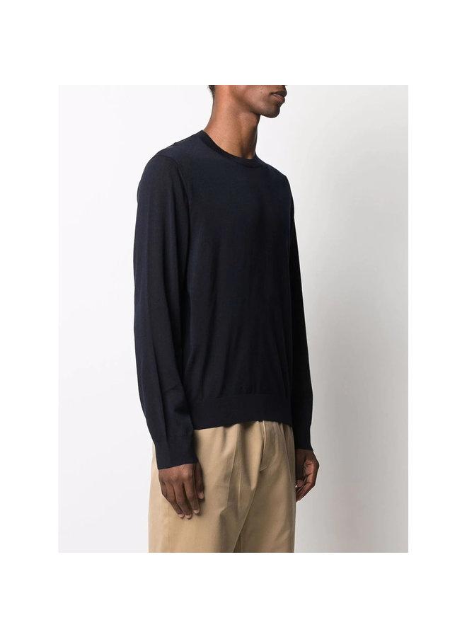 Crew Neck Sweater in Blue