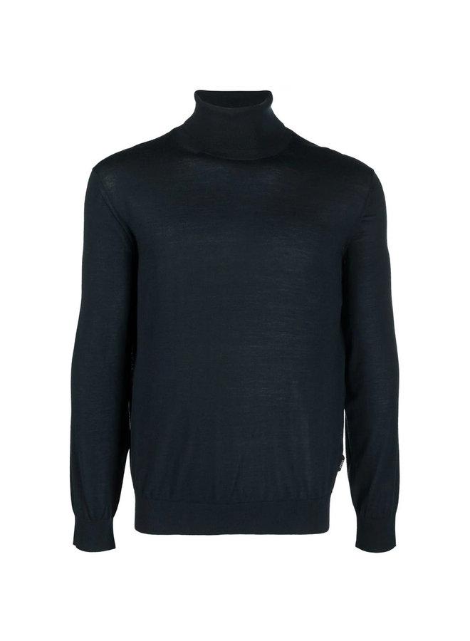 Turtleneck Sweater in Petrol