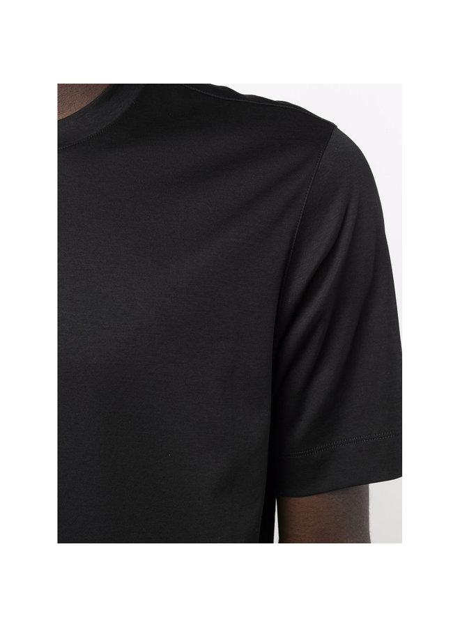 Crew Neck T-Shirt in Black