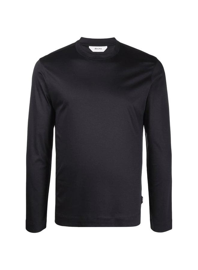 Long Sleeve T-Shirt in Blue