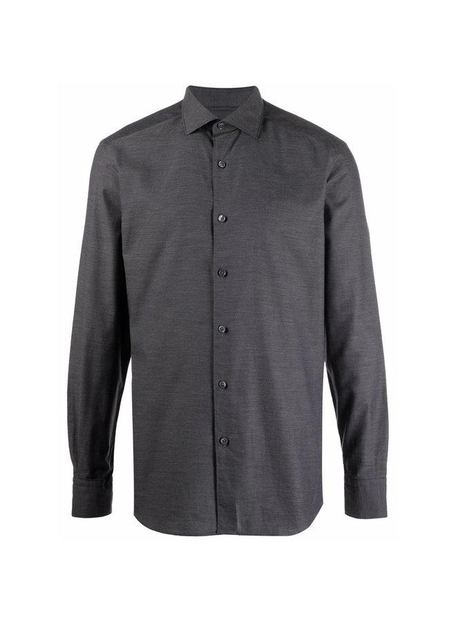 Poplin Twill Casual Shirt