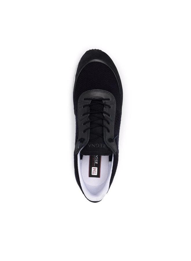 Techmerino Low Top Sneakers in Navy