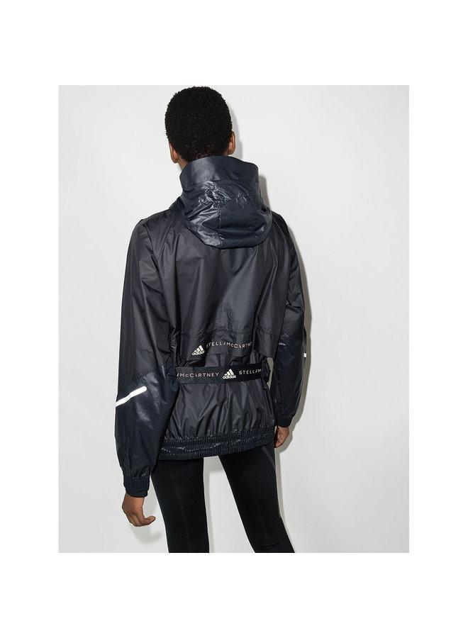 Packable Windbreaker Jacket in Black