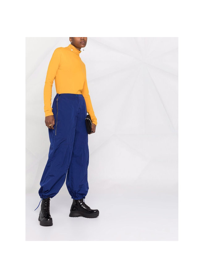 High Waisted Oversized Pants in Royal Blue