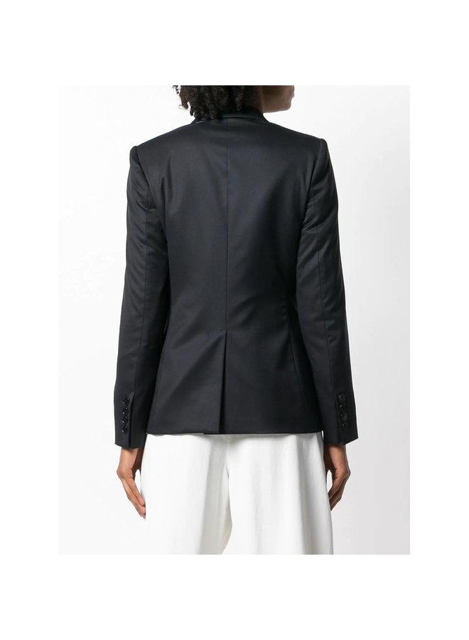 Mattea Blazer Jacket in Black