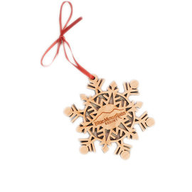 Nestled Pines Snowflake Ornament