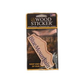 Blue Mtn Wood Sticker