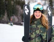 Women's Big Mountain Skis