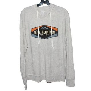 Blue Mountain Mns Camshaft L/S Hooded Tee