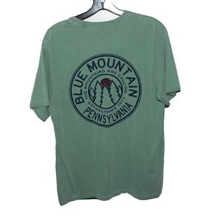 Blue 84 Blue Mtn Fractured Pines S/S Tee
