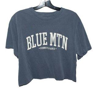 Blue 84 Blue Mtn Ivy Seen This Crop Tee
