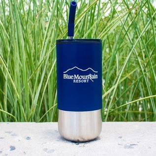 Blue Mtn Tumbler w/Straw