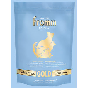 Fromm Gold Healthy Weight Dry Cat Food 4lb (Blue)