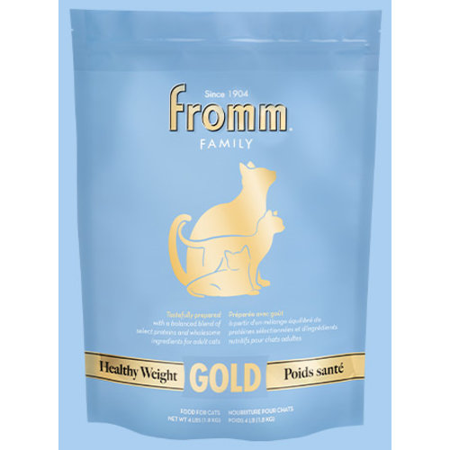 Fromm Gold Healthy Weight Dry Cat Food 10lb (Blue)